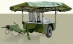 Mobile Water Purifying Trailer