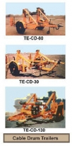 Cable Handling Winches & Trailers