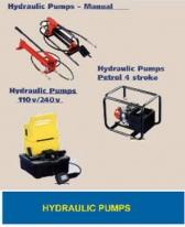 Hydraulic Pumps, Life Saving Kit & Measuring Wheels