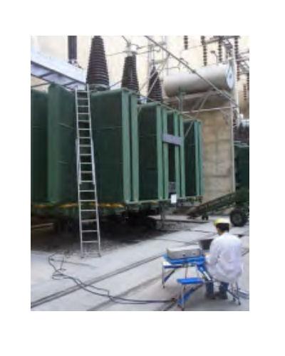 Power Transformer Motor Testing Equipment